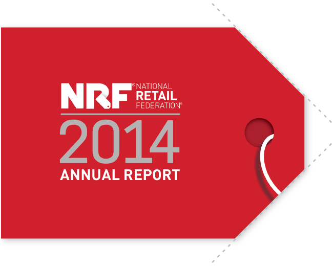 NRF 2014 Annual Report Cover Die Cut