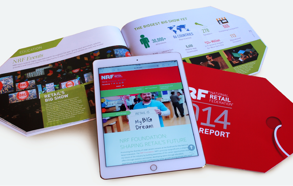 NRF 2014 Annual Report Spread