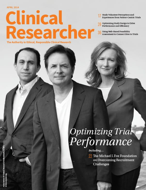 Clinical Researcher - April 2014