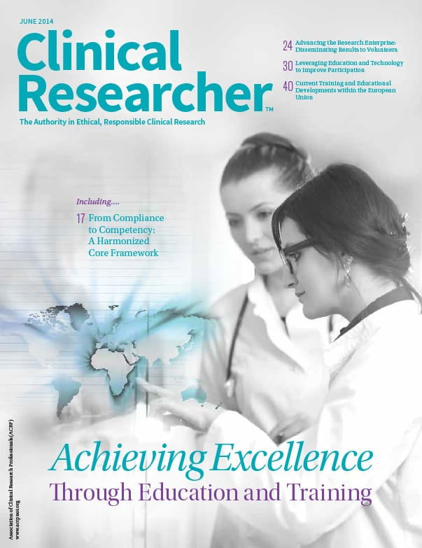 Clinical Researcher - June 2014
